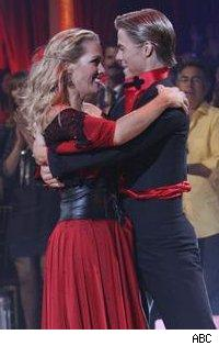 Jennie Garth and Derek Hough - Dancing With The Stars