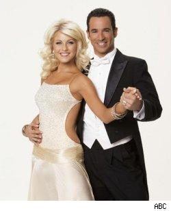 Helio Castroneves and Julianne Hough - Dancing WIth The Stars