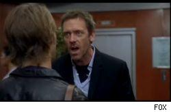 Hugh Laurie as Dr. Gregory House on FOX's House MD