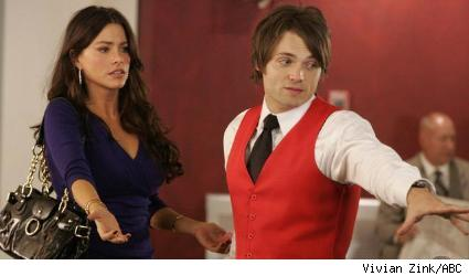Seth Gabel and Sofia Vergara