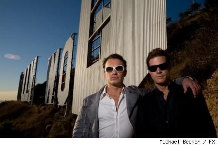 Julian McMahon and Dylan Walsh star in FX's Nip/Tuck.