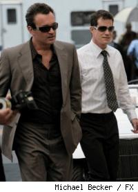 Julian McMahon and Dylan Walsh