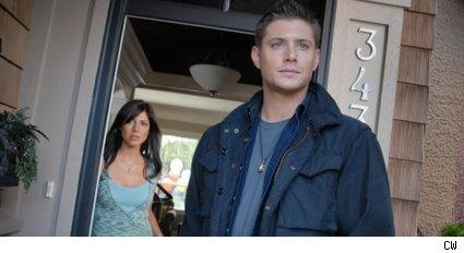 Jensen Ackles and Cindy Sampson - Supernatural