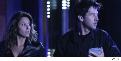 jill wagner and joe flanigan - stargate: atlantis