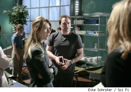 Drs. Keller and McKay from this week's episdoe fo Stargate
