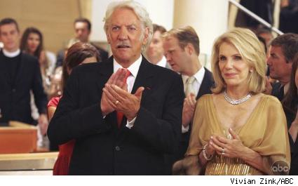 Donald Sutherland and Jill Clayburgh
