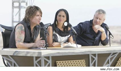 The Next Great American Band judges.
