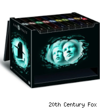 x-files dvd box