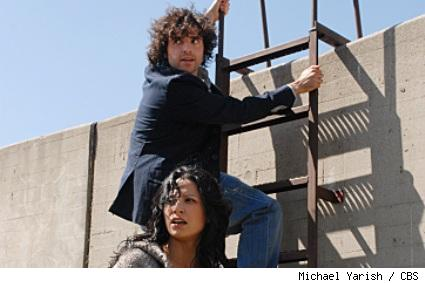 David Krumholtz and Navi Rawat star in Numb3rs.