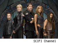 The cast of Stargate Atlantis