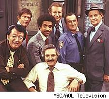 The cast of Barney Miller