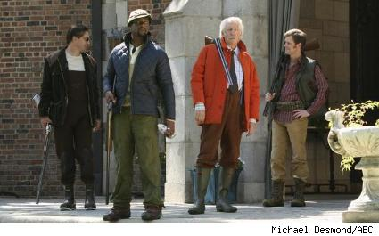 William Baldwin, Blair Underwood, Donald Sutherland, and Peter Krause