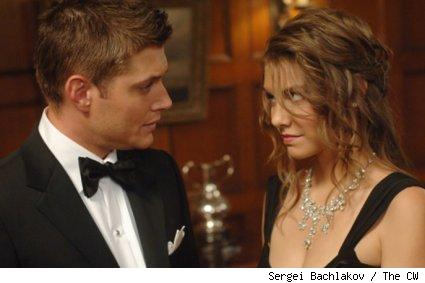 Jensen Ackles and Lauren Cohan - Supernatural