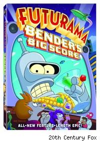 futurama bender's big score dvd