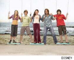 The cast of TV's Hannah Montana is moving to the big screen in 2008