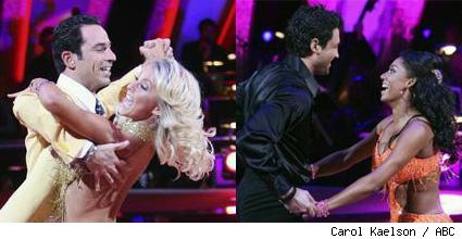 Helio & Julianne vs Mel & Maks