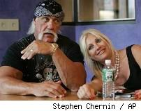 Hulk Hogan and his soon-to-be-ex-wife Linda