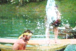 Todd gets splashed on Survivor China