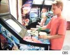 The game arcade on Kid Nation