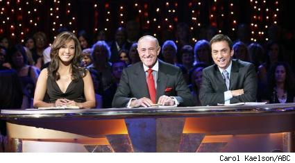 Carrie Ann Inaba, Len Goodman, and Bruno Tonioli