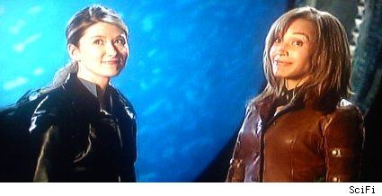 Jewel Staite and Rachel Luttrell - Stargate: Atlantis