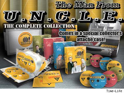Man From U.N.C.L.E. DVD set