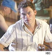 Dominic West as Jimmy McNulty on The Wire