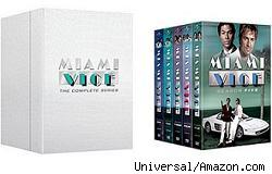 Miami Vice DVDs