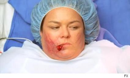 Rosie O'Donnell as Dawn Budge in Nip/Tuck.
