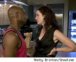 Romany Malco and Mary-Louise Parker