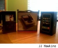 iPod Classic, Zune, iPhone