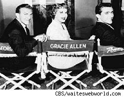 George Burns, Gracie Allen, Ronnie Burns