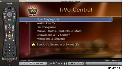 TiVo over the Slingbox