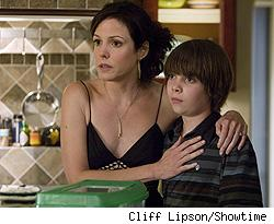 Mary-Louise Parker and Alexander Gould