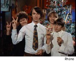 Micky, Michael, Peter and Davy celebrate Christmas 1967
