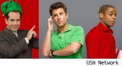 Psych and Monk hold holiday court this Friday on USA