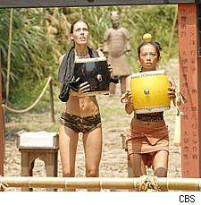 Amanda and Peih-Gee from Survivor China