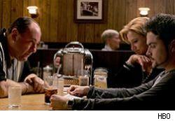 What happened during the last moments of The Sopranos. Who cares?