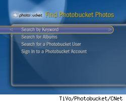 TiVo and PhotoBucket