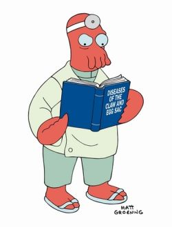 Dr. Zoidberg got his name from a 24-year-old video game