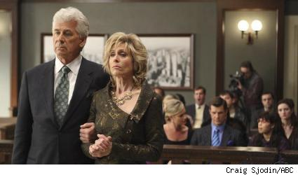 Barry Bostwick and Judith Light