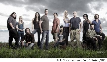 Season Four cast of Lost