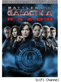 bsg razor dvd
