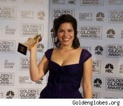America Ferrera from last year's Golden Globes ceremony