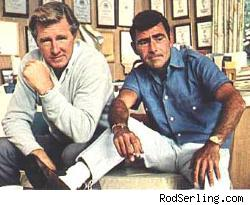 Lloyd Bridges & Rod Serling