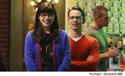 America Ferrera and Christopher Gorham