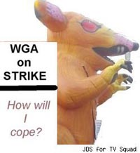 WGA on strike