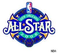 2008 NBA All-star game logo