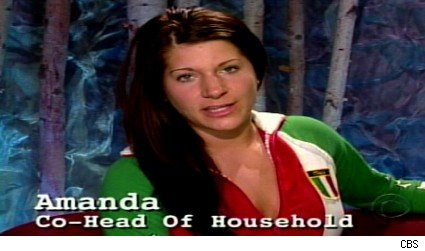 Amanda is co-head of household.