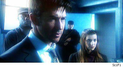 Joe Flanigan and Emma Lahana - Stargate Atlantis